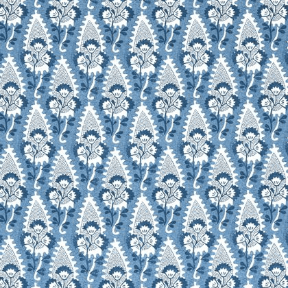 Anna French Cornwall Linen in Blue