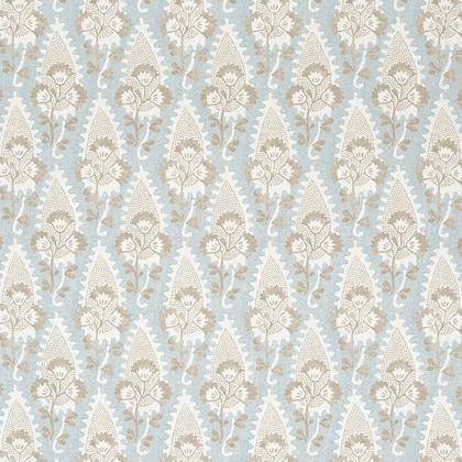 Anna French Cornwall Linen in Spa Blue
