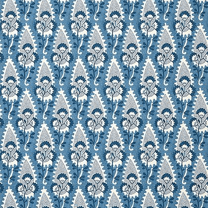 Anna French Cornwall Wallpaper in Blue