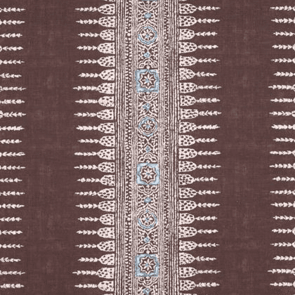 Anna French Javanese Stripe in Brown