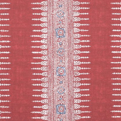 Anna French Javanese Stripe in Red