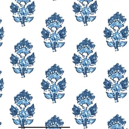 Anna French Julian Cotton in Blue