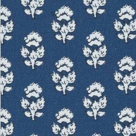 Anna French Julian Cotton in Navy