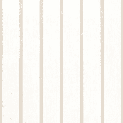 Anna French Sailing Stripe Linen in Beige and White