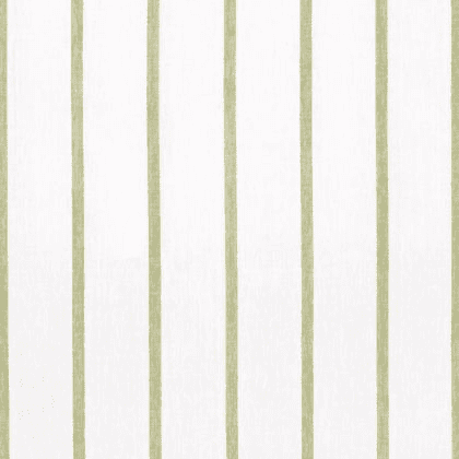 Anna French Sailing Stripe Linen in Green and White