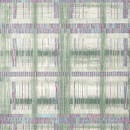 Anna French Takao Weave  Wallpaper in Green