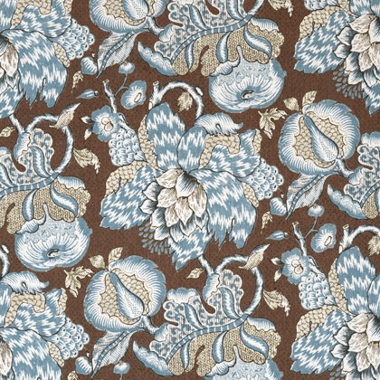 Anna French Westmont Linen in Brown and Slate