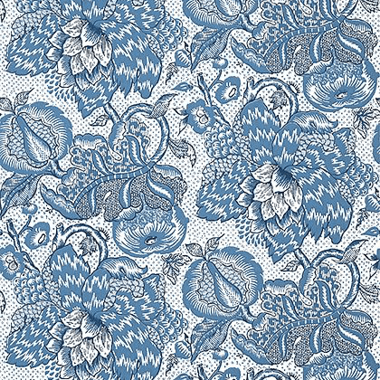 Anna French Westmont Wallpaper in Blue