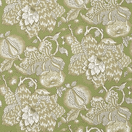 Anna French Westmont Wallpaper in Green