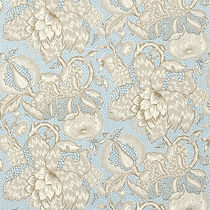 Anna French Westmont Wallpaper in Spa Blue