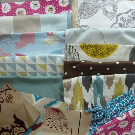 Bargain Fabric Pieces for Craftwork