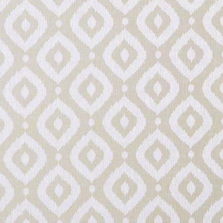 Clarke and Clarke Soraya Fabric in Natural