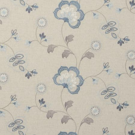 Clarke & Clarke Chatsworth in Chambray