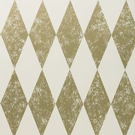 Clarke & Clarke Tortola Wallpaper in Gold