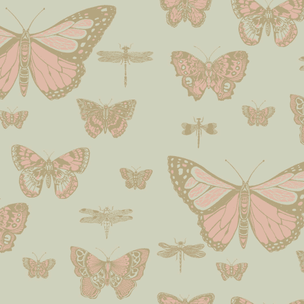 Cole & Son Butterflies and Dragonflies Wallpaper 103/15063