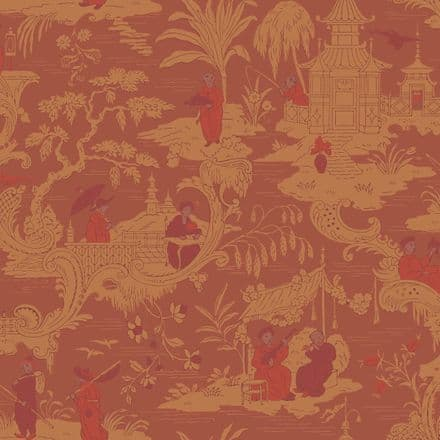 Cole & Son Chinese Toile Wallpaper 100/8041