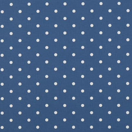 Dotty Denim Oilcloth.