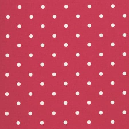 Dotty Red Oilcloth.