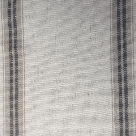 French Ticking Stripe Linen Fabric