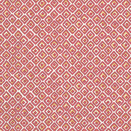 Indian Diamond Wallpaper in Pink