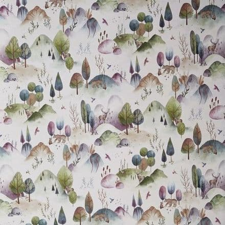 Prestigious Hilltop Heights  Wallpaper in Candyfloss