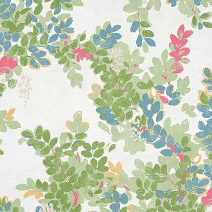 Thibaut Central Park Fabric in Green