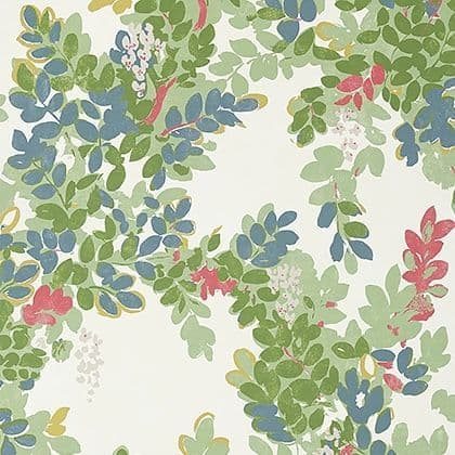 Thibaut Central Park Wallpaper in Green