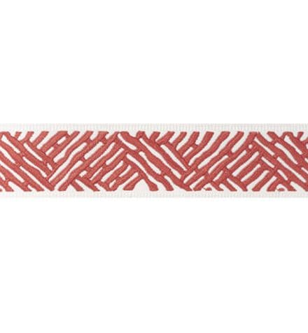 Thibaut Cobble Hill Tape in Coral
