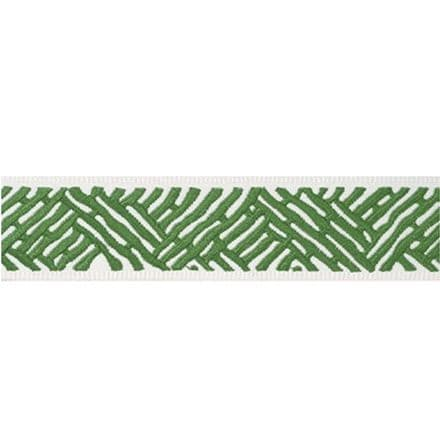 Thibaut Cobble Hill Tape in Kelly