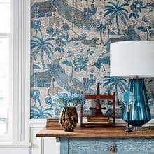 Thibaut Colony Wallpaper