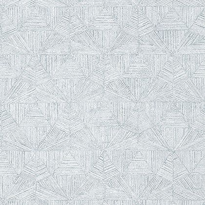 Thibaut Crystalla Wallpaper in Soft Blue