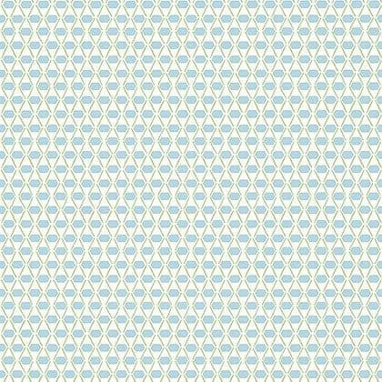 Thibaut Denver Wallpaper in Spa Blue and Green