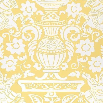 Thibaut Galway Wallpaper in Yellow