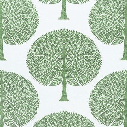 Thibaut Mulberry Tree Fabric in Green