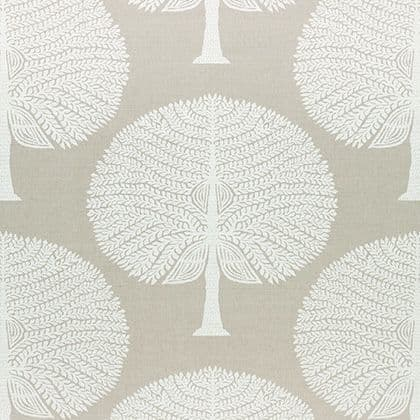 Thibaut Mulberry Tree Fabric in Natural