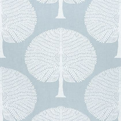 Thibaut Mulberry Tree Fabric in Spa Blue