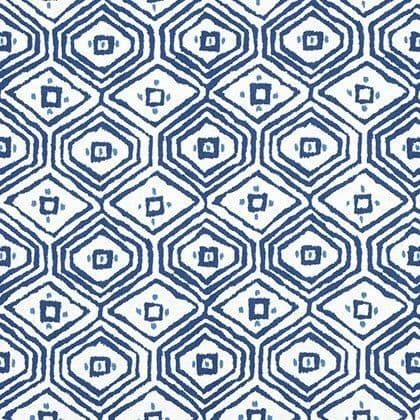 Thibaut Pass-A-Grille Linen in Navy