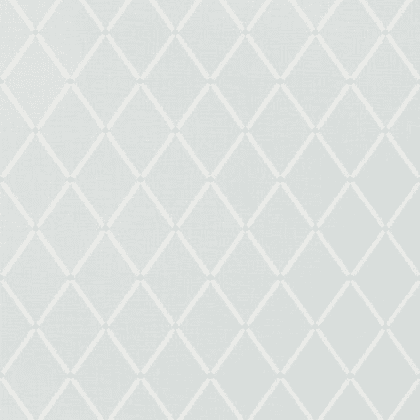 Thibaut Pompton Trellis Wallpaper in Aqua