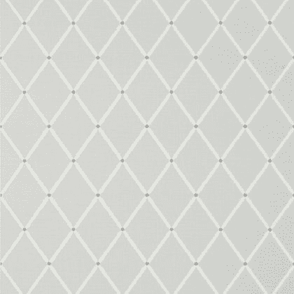 Thibaut Pompton Trellis Wallpaper in Grey