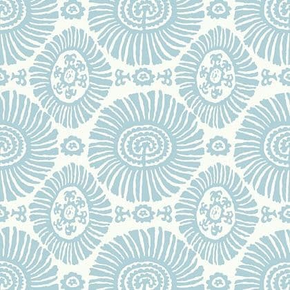 Thibaut Solis  Wallpaper in Spa Blue