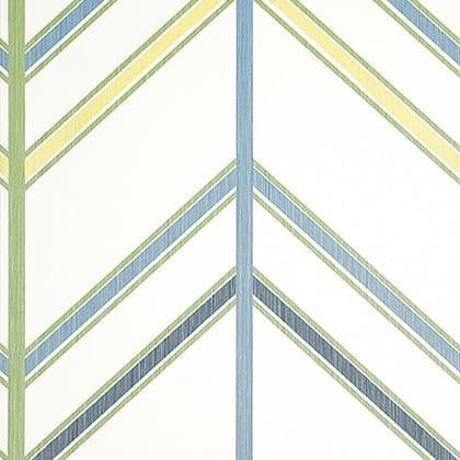 Thibaut Ventura Wallpaper in Blue and Green