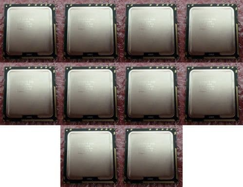 10 x Intel Xeon E5506 2.13GHz Quad Core 4MB Cache CPU Processor SLBF8 LGA1366