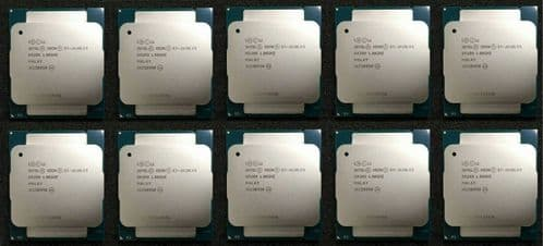 10x Intel Xeon E5-2630Lv3 Eight Core 1.80GHz 20MB Server Processor CPU SR209