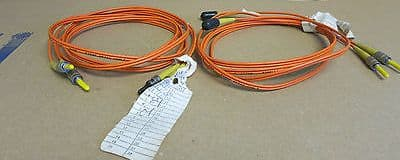 2 x Cisco Fibre Optic Fables Orange 1022M DFC 1 8/125 3395