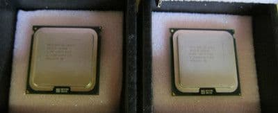 2 x Intel Quad-Core XEON X5460 3.16Ghz 12M cache 1333 FSB Processors CPU SLBBA