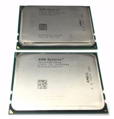 2 x AMD Opteron 2.3GHz Eight 8 Core 6134 OS6134WKT8EGO 12MB G34 Processor CPU