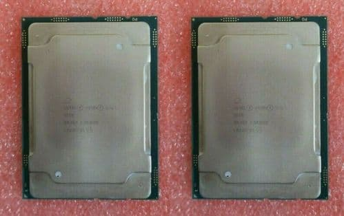 2 x Intel Xeon Gold 5118 Twelve-Core 2.30GHZ SR3GF LGA3647 Server CPU Processor