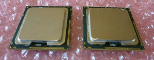 2 x Intel Xeon SLBF8 E5506 Quad-Core 2.13GHz 4MB 4.8GTs LGA1366 CPU Processor