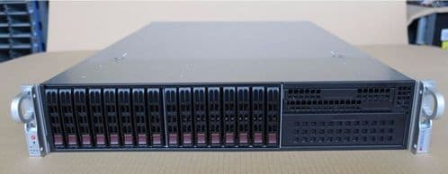 2 x Supermicro CSE-213 customised spec + networking