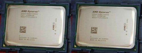 2x AMD OPTERON 16 CORE PROCESSOR 6278 2.40GHZ 16MB L3 CACHE CPU OS6278WKTGGGU